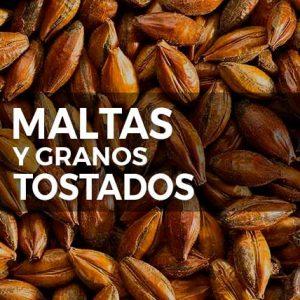 MALTAS Y GRANOS TOSTADOS