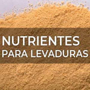 NUTRIENTES PARA LEVADURAS