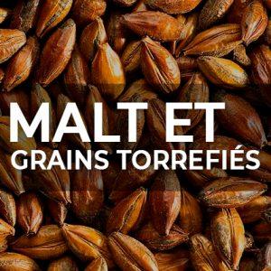 MALT ET GRAINS TORREFIÉS