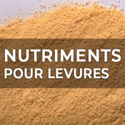 NUTRIMENTS POUR LEVURES