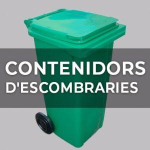 CONTENIDORS D'ESCOMBRARIES